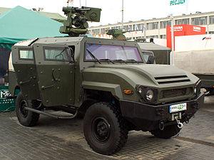 Infantry mobility vehicle - Image: MSPO08 Tur 1