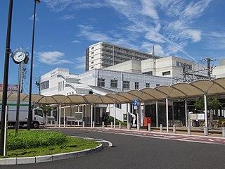 Nishiharu Station Railway station in Kitanagoya, Aichi Prefecture, Japan