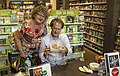 Macca at Cairns ABC shop with Jam Drops-1 (24458087363).jpg