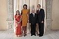 Madhav Kumar Nepal with Obamas.jpg