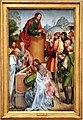 Maestro di lourinhã, retablo di san jacopo, 1520-25, 02 predica di san jacopo.jpg