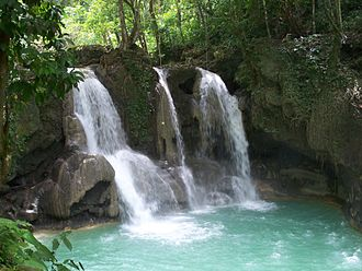 Antequera, Bohol - Image: Mag aso falls