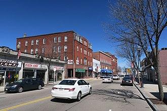 Milford, Massachusetts - Image: Main Street, Milford MA
