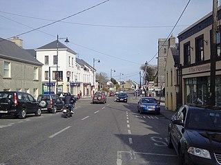 Spiddal Village in Connacht, Ireland