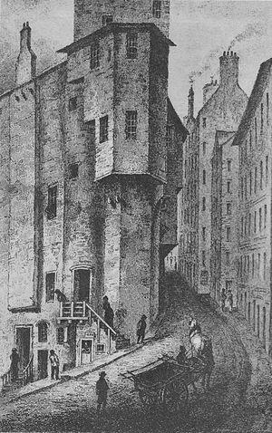 Thomas Weir - Major Weir's House in the West Bow, Edinburgh