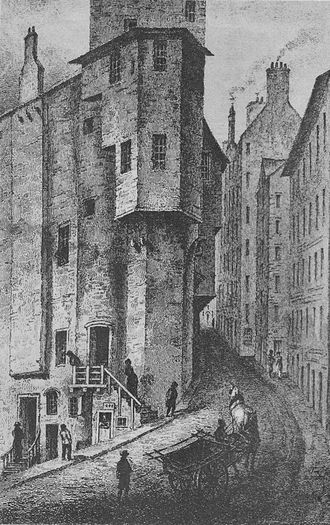 Thomas Weir - Major Weir's House in the West Bow, Edinburgh