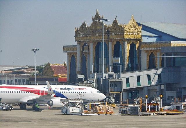 Yangon International Airport - Myanmar Hotels & Travel Guide