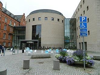Malmö City Library - Image: Malmö 1513