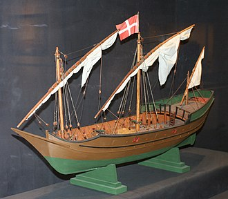 Caravel - A model of a caravel found in Malta
