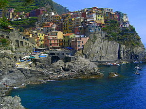 Manarola from the north