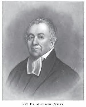 Chaplain - The Reverend Manasseh Cutler, American Revolutionary War chaplain who served in George Washington's Continental Army and was founder of Ohio University