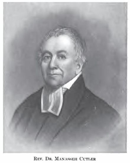 The Reverend Manasseh Cutler, American Revolutionary War chaplain who served in George Washington's Continental Army and was founder of Ohio University ManassehCutler.jpg