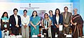 Maneka Sanjay Gandhi along with the Sportspersons Sachin Tendulkar, Mithali Raj, Raspreet Sidhu, Ragini Sharma, Mana Mandlekar, on the occasion of the International Day of the Girl Child.jpg
