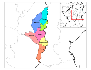 Districts of Zimbabwe - Districts of Manicaland