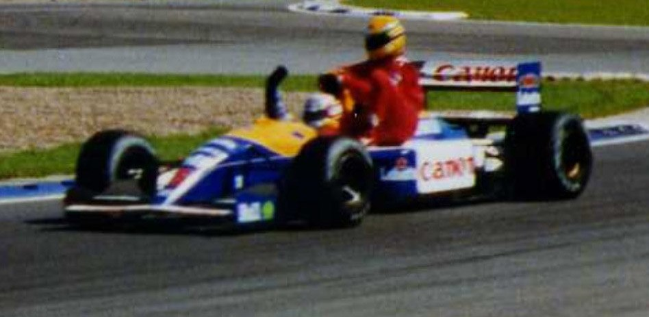 Mansell and Senna at Silverstone ultra cropped