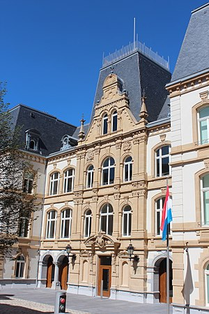 Ministry of Foreign Affairs (Luxembourg) - Image: Mansfeld Building Luxembourg City 2017 07