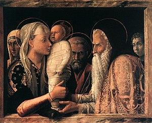 Presentation at the Temple (Mantegna) - Image: Mantegna Presentazione