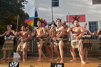 Haka - A performance by the Kahurangi Māori Dance group, United States.