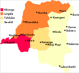 Map - DR Congo, major languages.svg