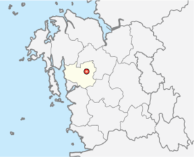 Location of Hongseong