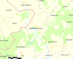 Map commune FR insee code 18137.png