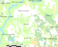 Map commune FR insee code 19069.png