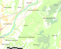 Map commune FR insee code 38195.png