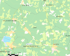 Map commune FR insee code 40155.png
