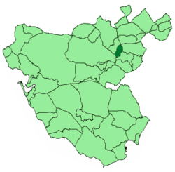 Location of El Bosque