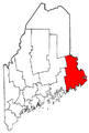 Map of Maine highlighting Washington County.png