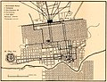 Map of Monterrey in 1919, from- Plans of Mexican towns 1919-1- (cropped).jpg
