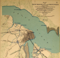Map of New Berne, N.C., and Defenses, 1864.png