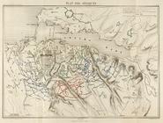 Map of Sebastopol lines 1855