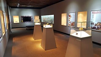 Mapungubwe Collection - Interior of the Mapungubwe gold gallery