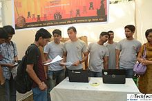 Marathi Wikipedia Stall At Techfest IIT Bombay13.jpg