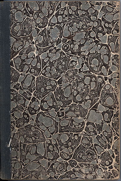 File:Marbled paper from cover of Horatius ed. Orelli (ed. min. Zürich 1843).jpg