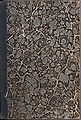 Marbled paper from cover of Horatius ed. Orelli (ed. min. Zürich 1843).jpg