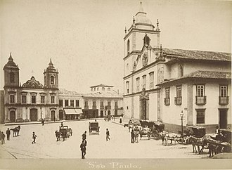 Sao Paulo in 1880 during the reign of Emperor Pedro II. Marc Ferrez - IMS 002001MF005003.jpg