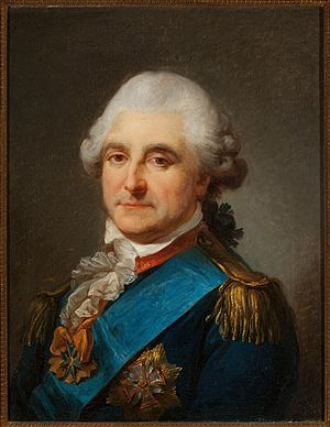 Stanisław August Poniatowski - Stanisław August in military uniform, by Marcello Bacciarelli