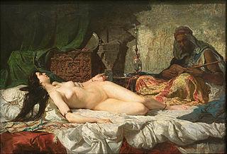 Odalisque Female slave or concubine in an Ottoman seraglio