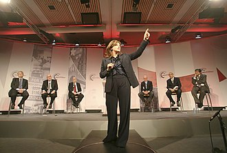 Maria Bartiromo - Maria Bartiromo at the World Economic Forum annual meeting in Davos in 2008