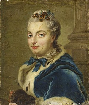 1736 in Sweden - Maria Charlotta Wrangel