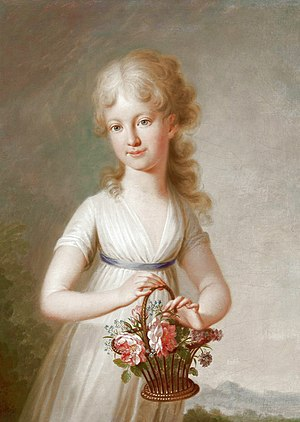 Archduchess Clementina of Austria - Maria Clementina Francesca as a child