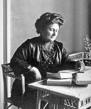 Sapienza University of Rome - Image: Maria Montessori 1913
