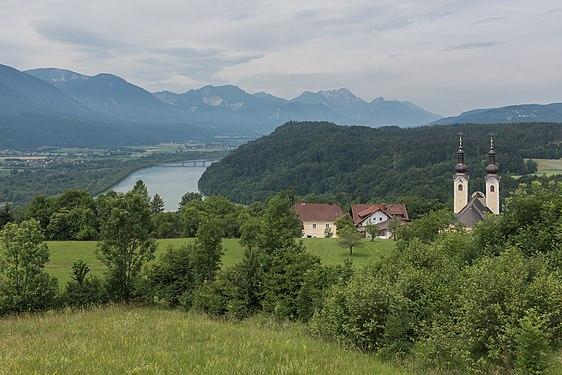Maria Rain Kaiserhütten-Blick nach Westen ins Rosental 18062015 4894.jpg