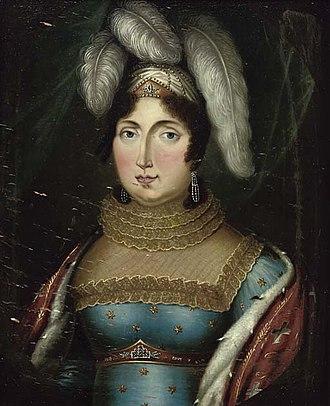Maria Beatrice d'Este, Duchess of Massa - Image: Maria Theresa of Austria Este queen of Sardinia