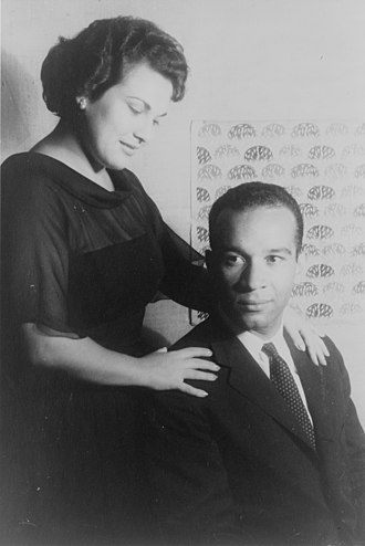 Black conductors - Henry Lewis and Marilyn Horne in 1961, photo by Carl Van Vechten.