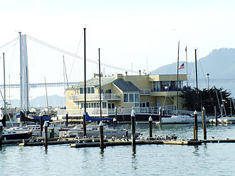 San Francisco Recreation & Parks Department - View of the Golden Gate Bridge from the Marina Harbor.