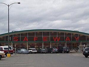 Safeway Inc. - A Marina Safeway in Hamilton, Montana built in 1962