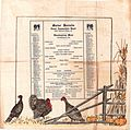 Marine Barracks, Naval Ammunition Depot, Thanksgiving Menu, 28 November 1918 (6388937101).jpg